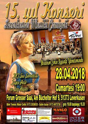 15. Yil Tugce Pala Forum Konseri