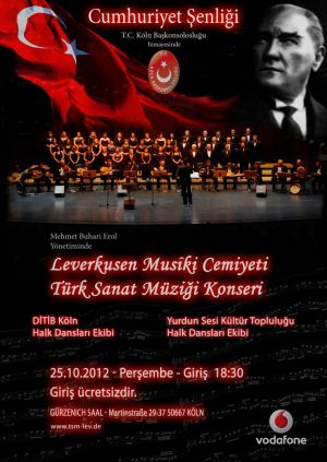 Cumhuriyet Senligi 2012